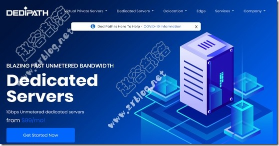 [CyberMonday]DediPath洛杉矶VPS五折$10/年起,独立服务器$45/月起
