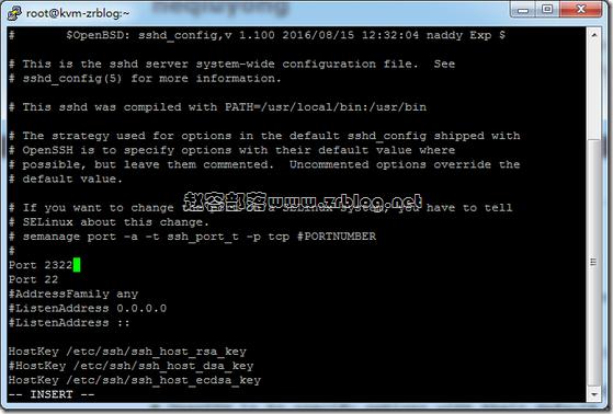 CentOS7.*修改ssh端口