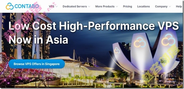 Contabo:$6.99/月KVM-8GB/200G SSD/200M不限流量/德国&美国&新加坡机房