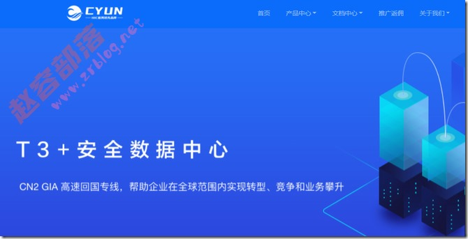 CYUN:全场VPS八折,老用户限量5折,香港VPS月付14.5元起
